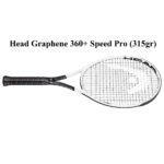 Vợt Tennis 2020 – Head Graphene 360+ Speed Pro (315gr)