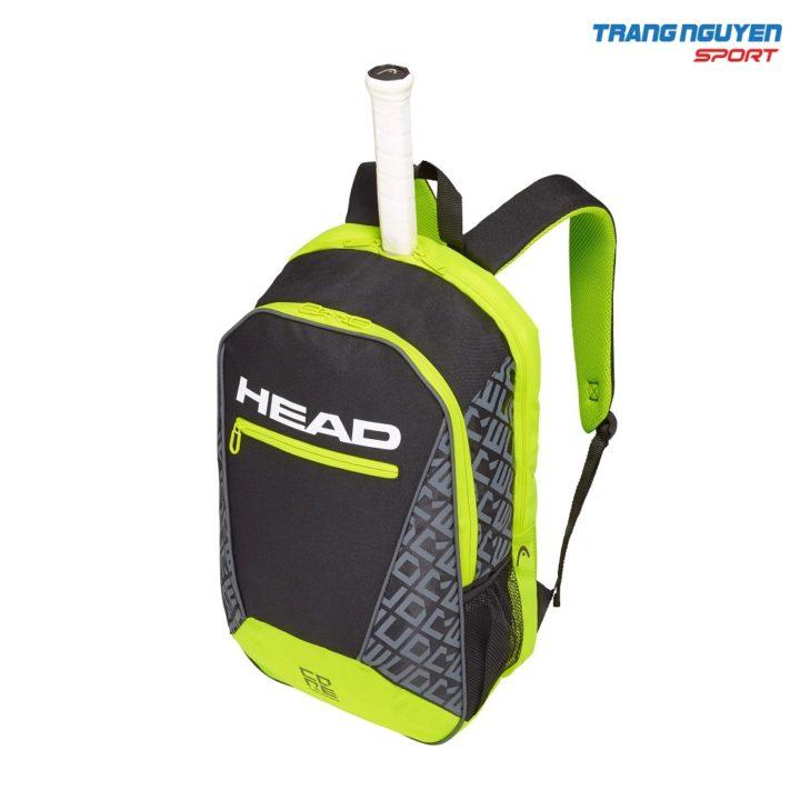 Ba lô Tennis Head Core Backpack – Màu Đen/Vàng neon
