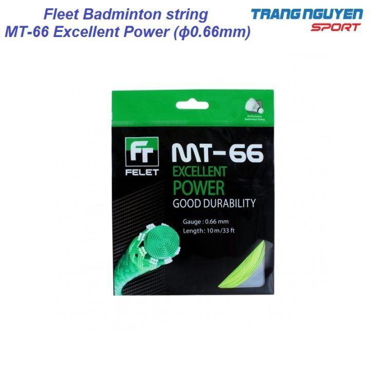 Dây Cước Cầu Lông Felet MT-66 Excellent Power (ϕ0.66mm)