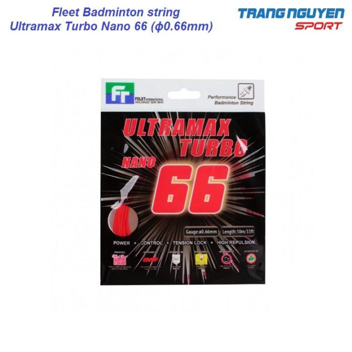 Dây Cước Cầu Lông Felet Ultramax Turbo Nano 66 (ϕ0.66mm)