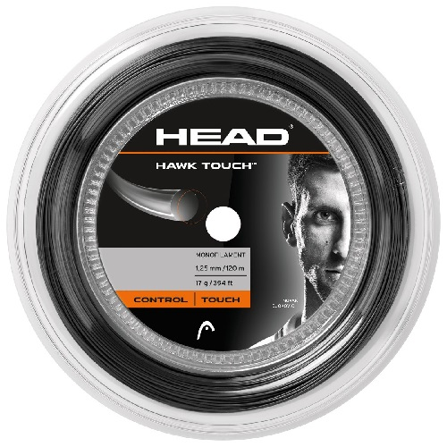 Dây Cước Tennis Head HAWK ROUGH 17G Màu Ghi (120m/cuộn)