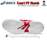 Giày Tennis Asics Court FF Novak Classic Red/White Năm 2020 (1041A089.603)