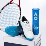 Giày Tennis Dunlop Speeza 3 White/Blue (10302859)