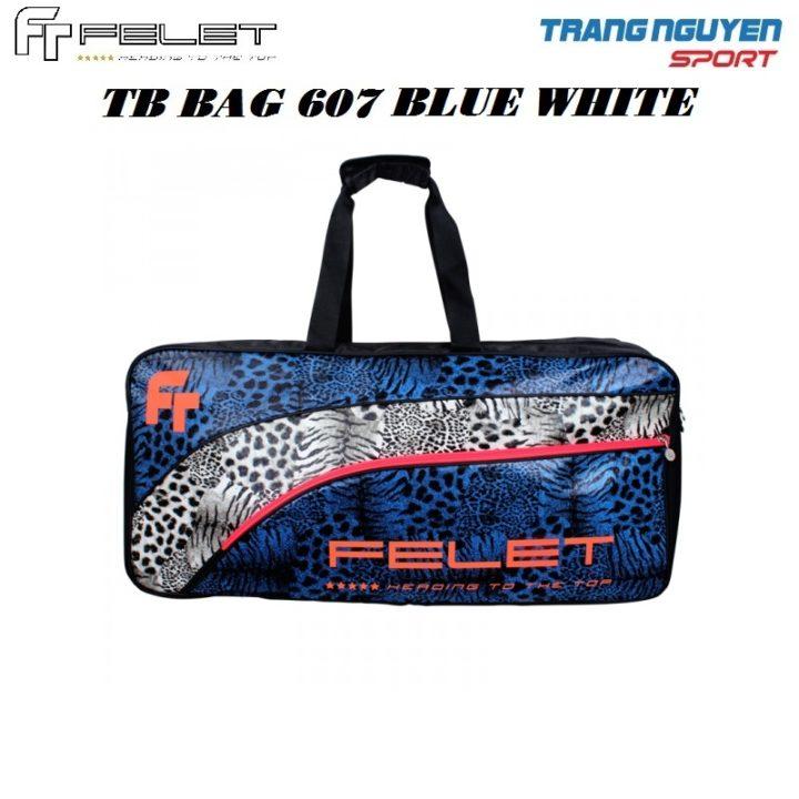 Bao/Túi Vợt Cầu Lông Felet TB-Bag 607 – Blue White