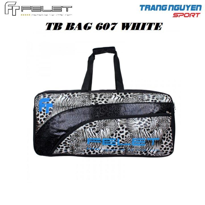 Bao/Túi Vợt Cầu Lông Felet TB-Bag 607 – Màu Trắng