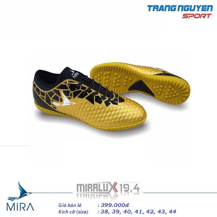 Giày Đá Bóng Mira LUX 19.4 – Màu Đồng