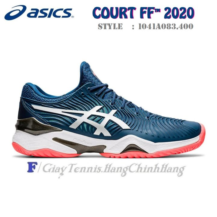 Giày Tennis Asics Court FF 2 Novak Mako Blue 2020 (1041A083.400)