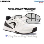 Giày Tennis Head Brazer Men WHBK (Trắng/Đen)