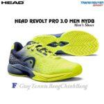 Giày Tennis Head Revolt Pro 3.0 Men NYDB (Vàng/Xám)
