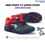 Giày Tennis Trẻ Em (KID) Head Sprint 3.0 Junior (Navy/Neon Red)