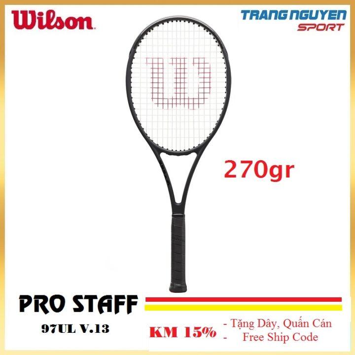 Vợt Tennis Wilson Pro Staff 97UL V13 Năm 2021 (270gr)