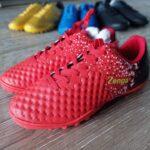 Giày Đá Bóng Trẻ Em Zenga – Màu Đỏ