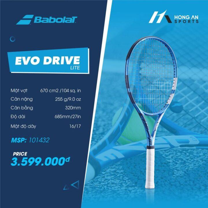 Vợt Tennis Babolat Evo Drive Lite 2021 (255gr)