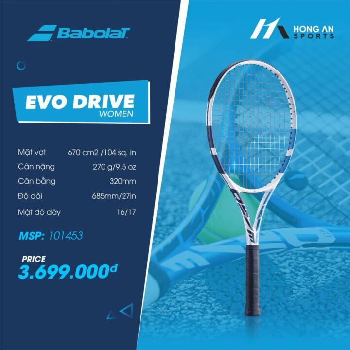 Vợt Tennis Babolat Evo Drive Woman 2021 (270gr)