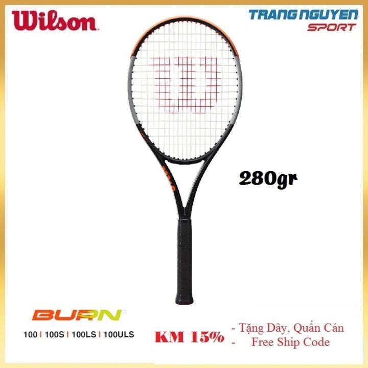 Vợt Tennis Wilson Burn 100LS V4 Năm 2021 (280gr)