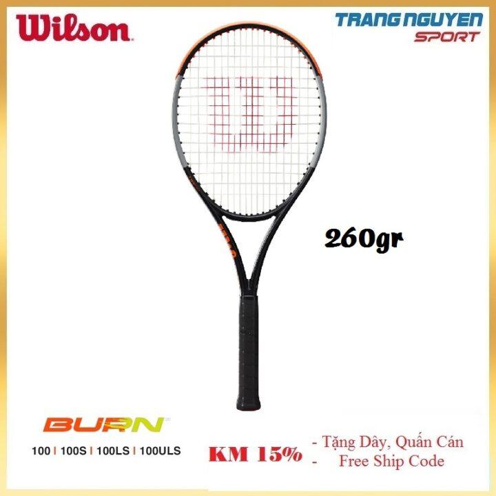 Vợt Tennis Wilson Burn 100ULS V4 Năm 2021 (260gr)
