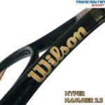Vợt Tennis Wilson Hyper Hammer 2.3 Black/Gold Năm 2021 (237gr)