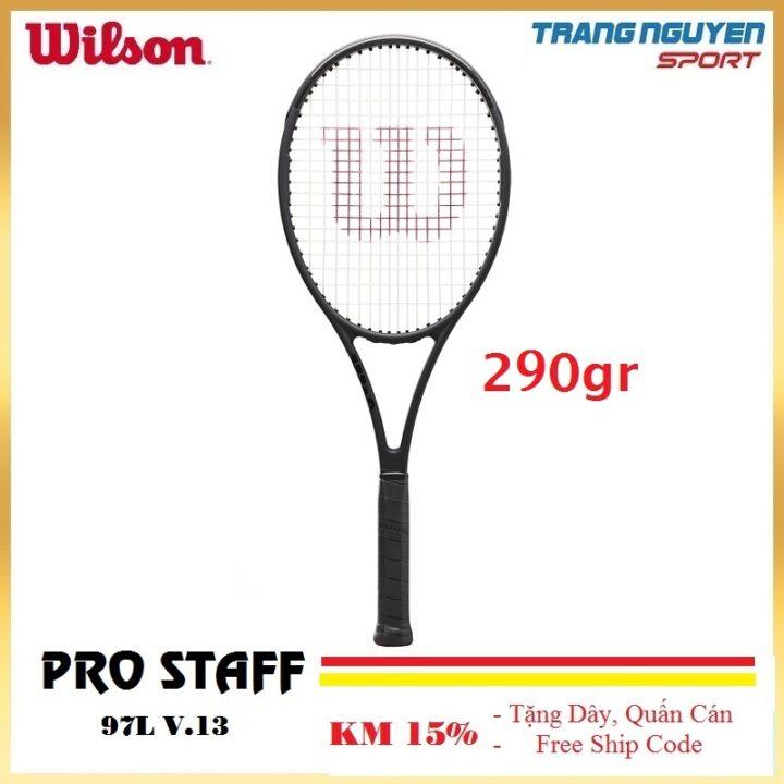 Vợt Tennis Wilson Pro Staff 97L V13 Năm 2021 (290gr)