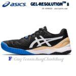 Giày Tennis Asics Gel Resolution 8 Black/White Năm 2020 (1041A079.100)