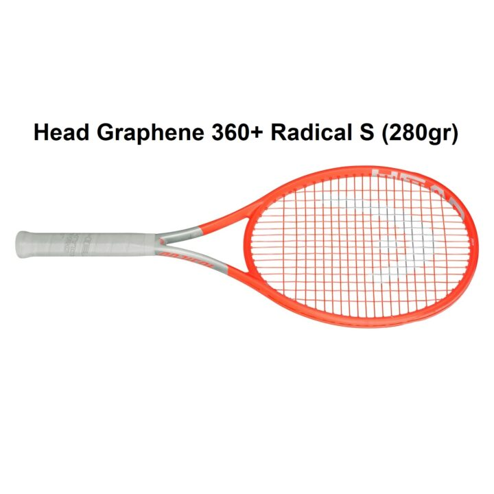 Vợt Tennis Head 2021 – Graphene 360+ Radical S (280gr)