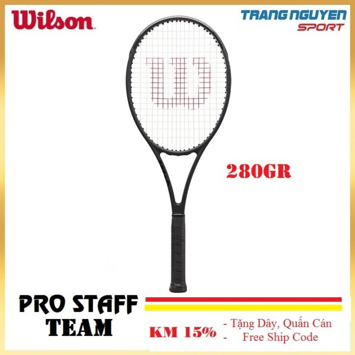 Vợt Tennis Wilson Pro Staff Team V13.0 RKT 2 Năm 2021 (280gr)