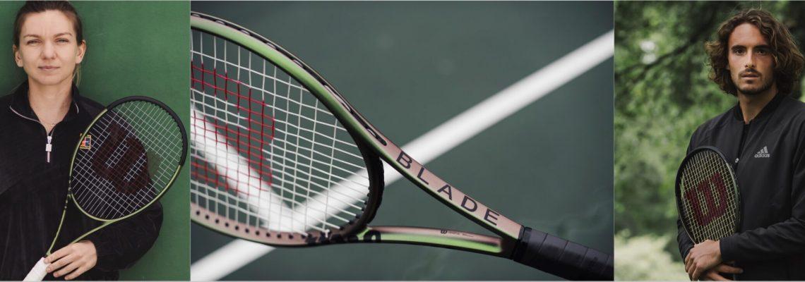 Vợt Tennis Wilson Blade 100L V8 Năm 2021 (285gr)   WR078911U