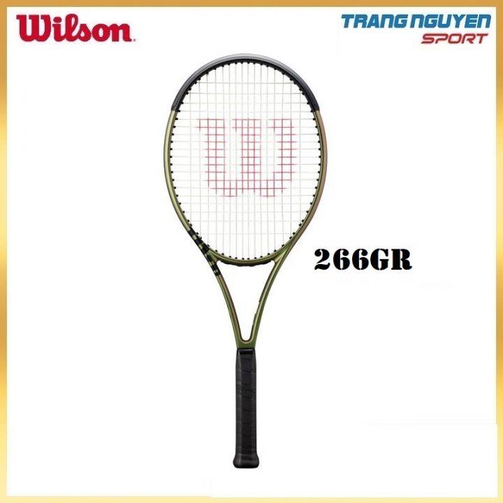 Vợt Tennis Wilson Blade 100UL V8 Năm 2021 (266gr)